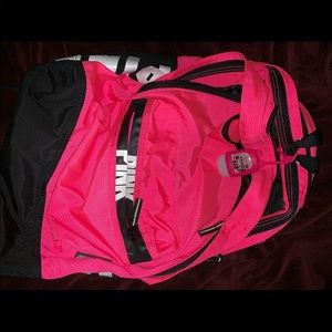 PINK by Victoria's Secret Neon Pink backpack